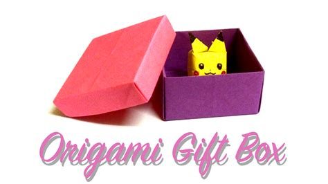Origami Box Cover - yoshiny s design how to make an origami gift box