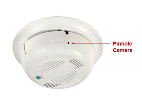 smoke detector hidden wifi nanny camera with internet access
