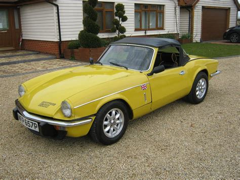 1976 triumph spitfire for sale classic cars for sale uk - 1976 Triumph Spitfire For Sale