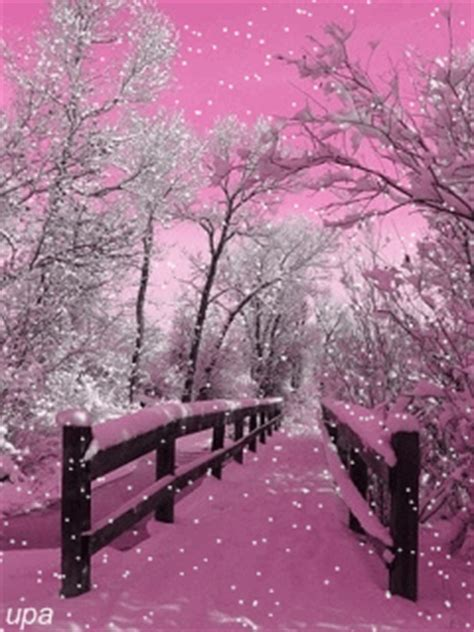 beautiful snow falling wallpaper