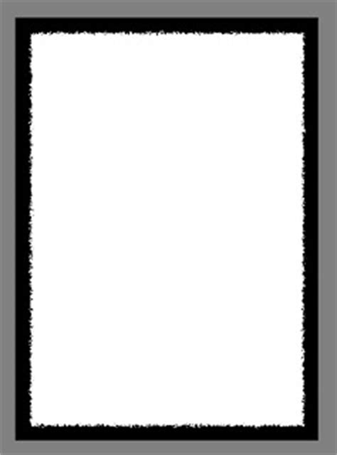 menu border templates