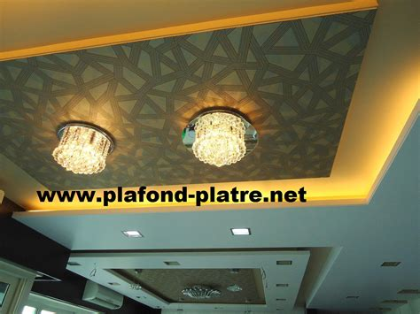 Décoration Plafond Salon by Cuisine D 195 169 Coration De Faux Plafond Platre Design Faux