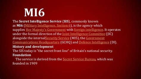 military intelligence section 6 top ten secret inteligent agencies part two