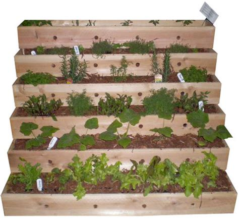 Tiered Herb Planter by Wonderful Planters At Cantigny Get Some Pedestals For