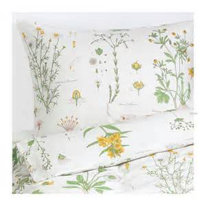 Single Duvet Cover Ikea Ikea Strandkrypa Twin Duvet Cover Pillowcase Set Botanical