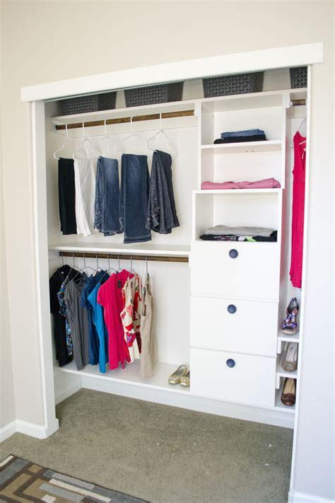 diy closet kit    hometalk