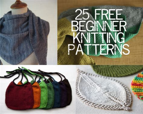 beginning knitting projects 25 free beginner knitting patterns painting lilies