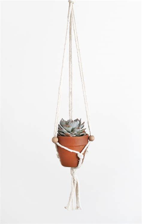 Diy Macrame Plant Holder - diy macrame plant hangers make