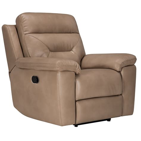 beige recliner city furniture phoenix dk beige microfiber recliner