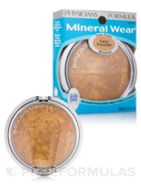 Mineral Wear Talc Free Mineral Powder mineral wear 174 talc free mineral powder spf 16