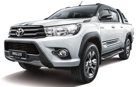 At Toyota Toyota Hilux 2 4g At Limited Edition Launched Malaysia