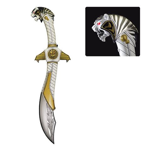 How To Make A Power Ranger Sword Out Of Paper - item of the week white ranger sword replica
