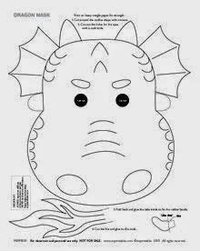 new year animal masks to colour frog cut out template frog mask colouring pages diy