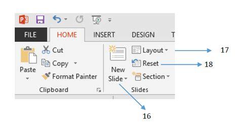 kegunaan layout presentasi mengenal menu pada microsoft powerpoint 2013 bagian 2
