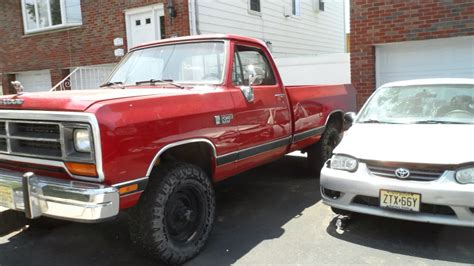 89 dodge cummins 1989 dodge cummins w250 build thread pic heavy diesel