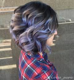 lavendar highlights in salt and pepper hair 20 shades of the grey hair trend