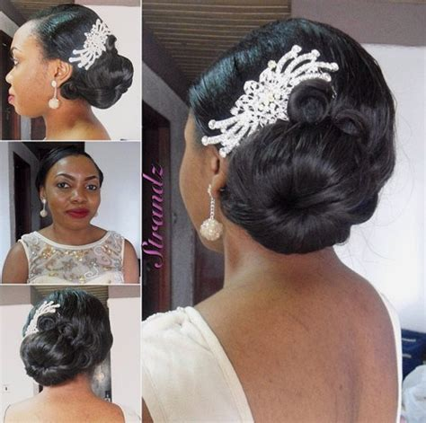 Wedding Hairstyles Side Buns by 50 Superb Black Wedding Hairstyles