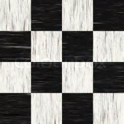 Stock image of black and white checkered floor tiles with texturethis