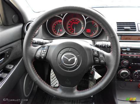 mazda mazda mazdaspeed grand touring mazdaspeed black steering wheel photo