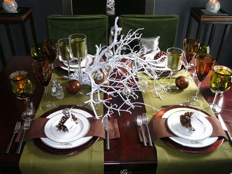 elagant christmas table tops in white theme 23 diy decoration ideas beautyharmonylife
