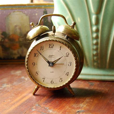 vintage brass alarm clock linden black forest  photo  flickriver