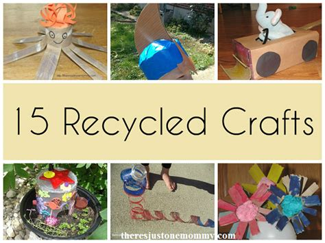 earth day recycled crafts for 15 recycled crafts for earth day there s just one