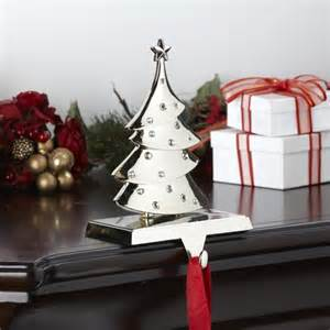 ksp christmas mantle crystal stocking holder tree