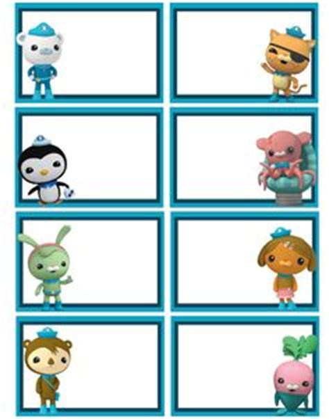 octonauts templates 1000 images about octonauts on water