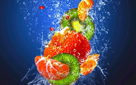 fruit in fruits in the water beautiful wallpaper new hd