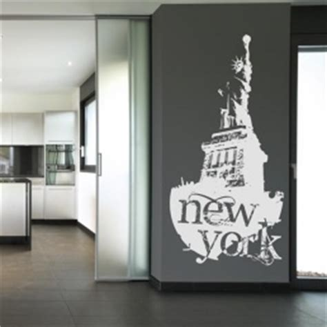 Wall Stiker Vintage L Xl8198 Stiker Dinding Wall Sticker new york statue of the libert wall stickers decals by
