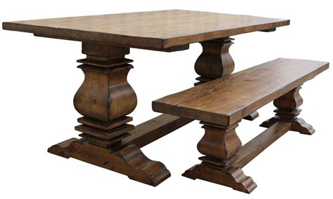 reclaimed dining bench dining tables mortise tenon