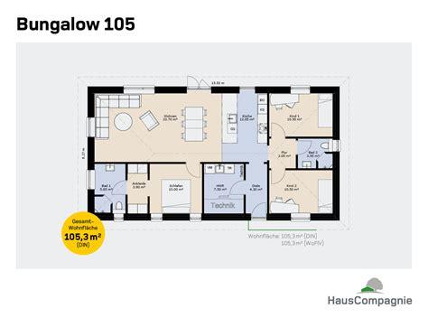 wohnung 65 m2 grundriss bungalow hauscompagnie