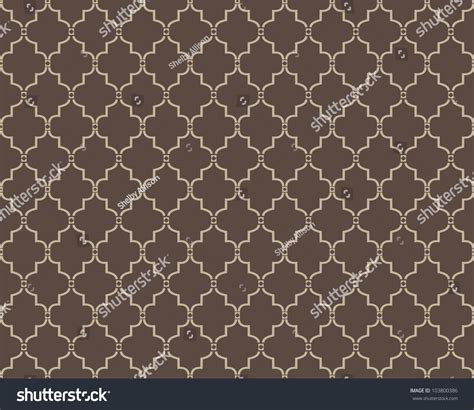 seamless moroccan pattern seamless moroccan trellis pattern stock vector