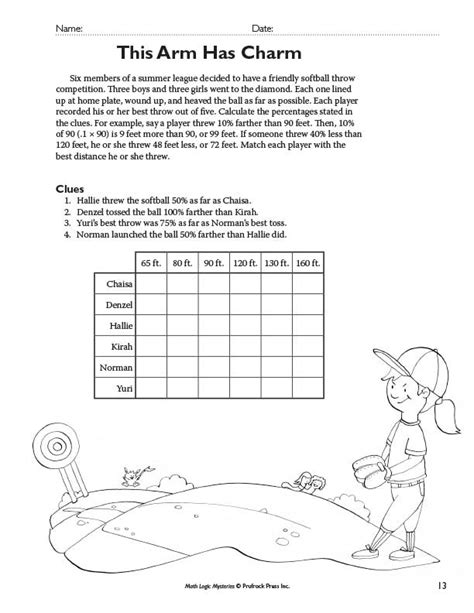 Deductive Reasoning Worksheets by Prufrock Press Math Logic Mysteries Mathematical