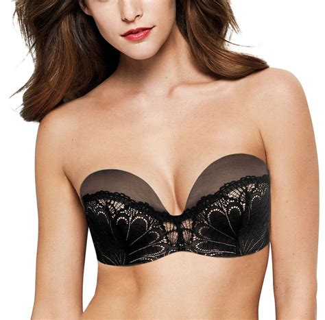Fab Finding Follow Up The Strapless Bra by Wonderbra Lace W031u Underwired Strapless Push Up