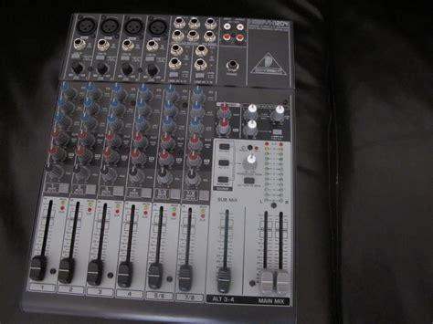 Mixer Xenyx 1204 behringer xenyx 1204 image 254376 audiofanzine