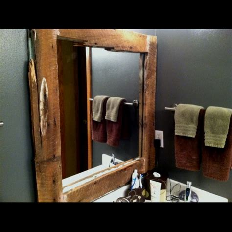 Diy Bathroom Mirror Ideas Diy Bathroom Mirror