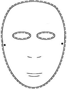 printable greek mask template great for mardi gras commedia dell arte mask templates