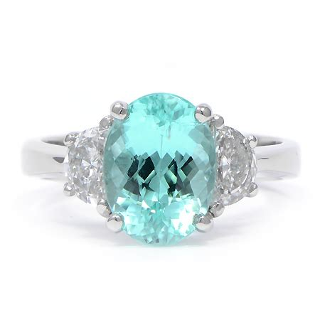 paraiba tourmaline & diamond ring | wixon jewelers