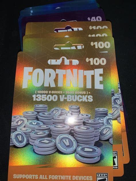 fortnite  bucks xbox   fortnite  gift card
