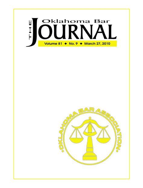 oklahoma bar association family law section http www okbar org obj pdf 2010 obj2010mar27 by oklahoma