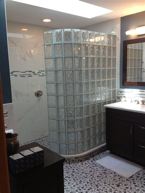 glass block bathroom ideas learn the trends in bathroom design in 2014