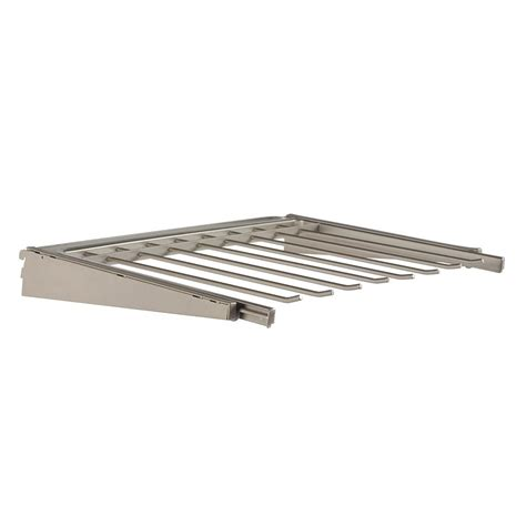 closetmaid superslide 5 ft to closetmaid superslide 5 ft to 8 ft white ventilated wire