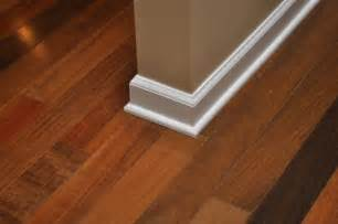 Hardwood Floor Molding Painting Vs Staining Quarter Shoe Molding Trim One Project Closer