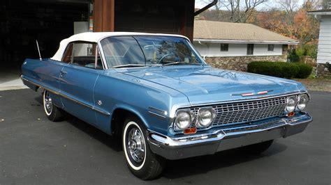 1963 chevrolet impala ss 1963 chevrolet impala ss convertible k131 kissimmee 2013