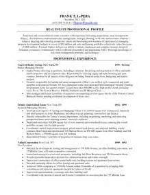 how to create a resume leasing resume template exle