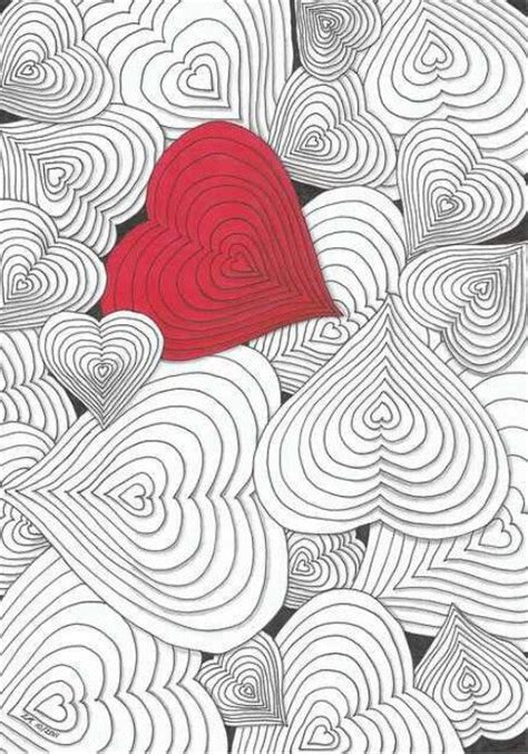doodle meanings hearts 12 best zentangle images on zentangle patterns