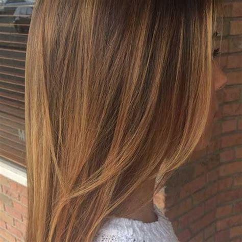 goldene braune haare mit blonden straehnen haareco