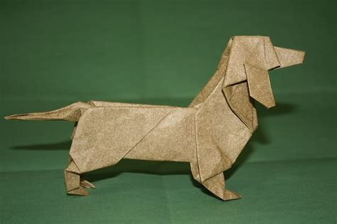 Origami Sausage - origami dogs by steven casey milk other