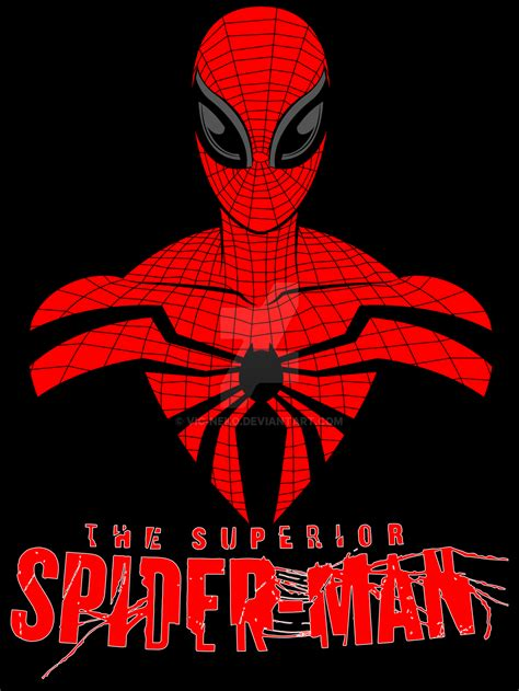 superior spider man pattern the gallery for gt marvel superhero logos
